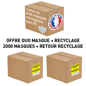 Carton-de-2000-masques-chirurgicaux-Made-In-France-+-RECYCLAGE