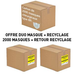 Carton-de-2000-masques-chirurgicaux-+-RECYCLAGE