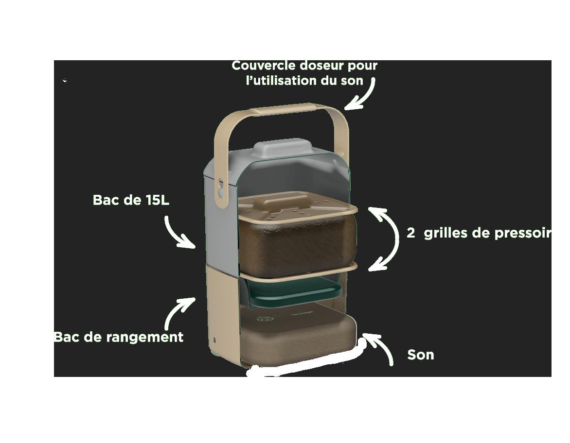 Composition du bio-seau